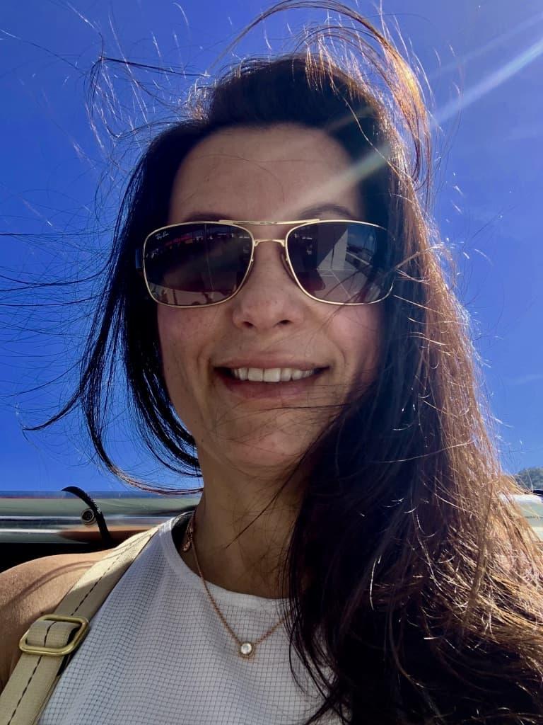 Enjoy Being Single Woman Smiling Selfie