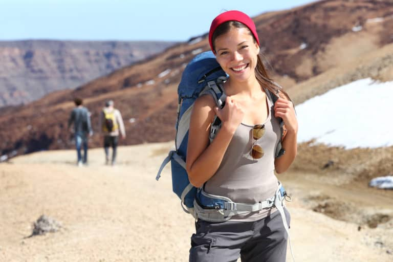 Make Yourself a Priority Hiker portrait